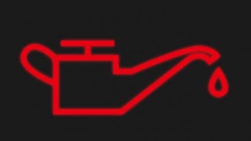 Cảnh báo áp suất dầu bôi trơn động cơ.