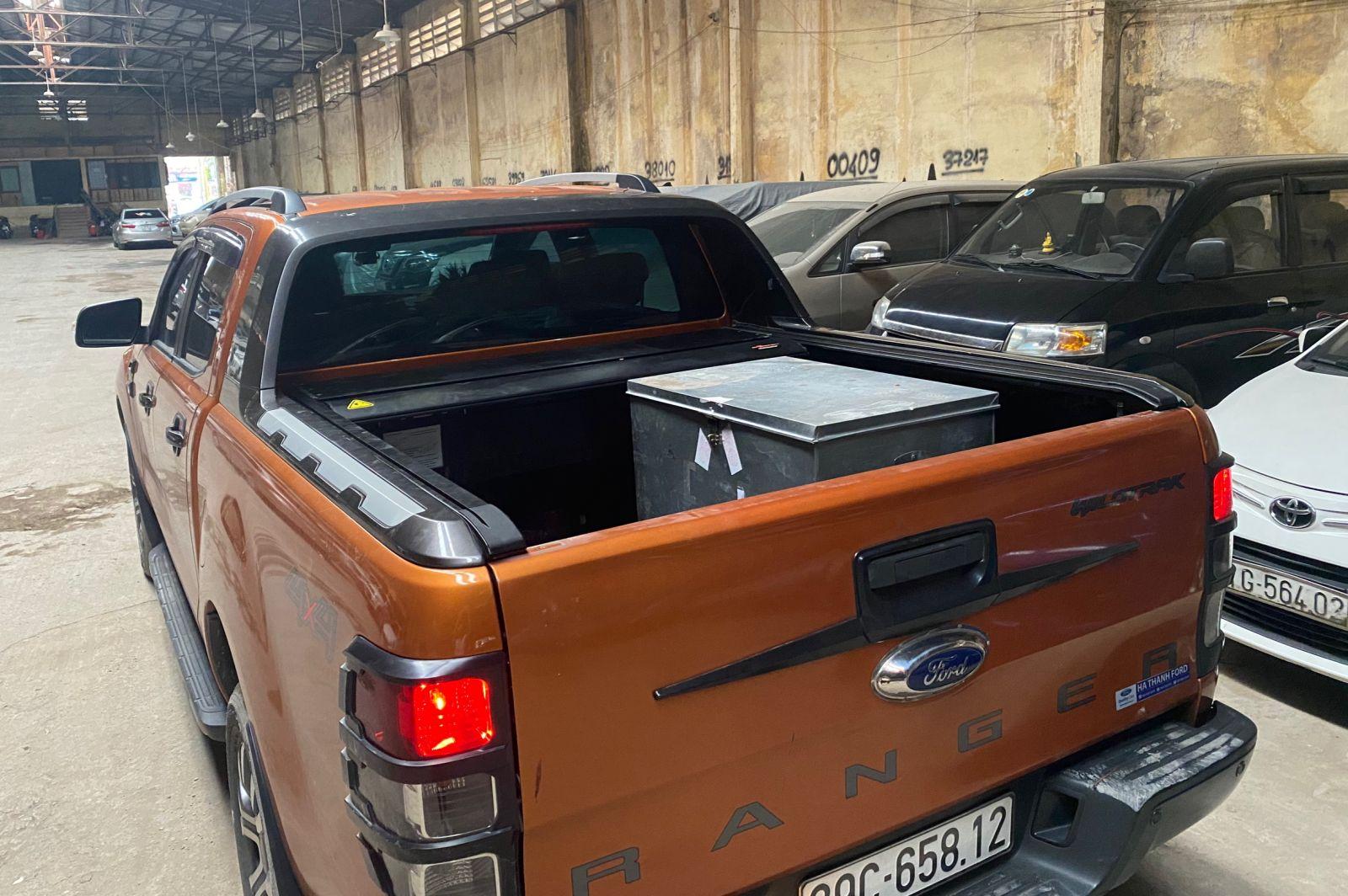 xe bán tải ford ranger wildtrak
