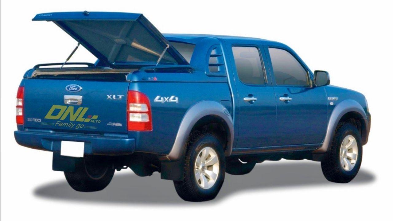 nắp thùng thấp ford ranger 2009