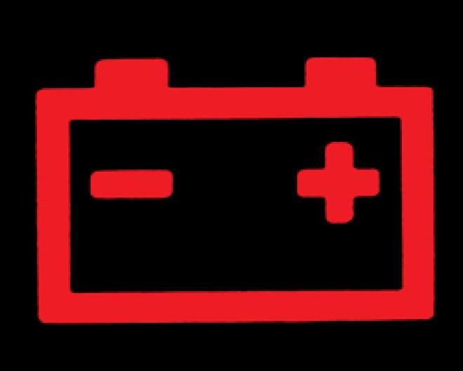 Đèn cảnh báo hệ thống nạp điện cho bình ắc-quy.