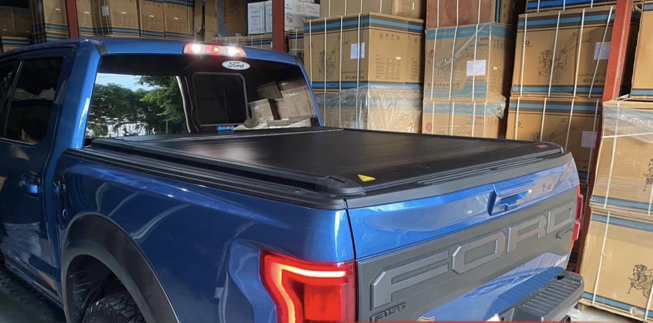nắp thùng cuộn điện Ford Ranger hiệu Bestwyll