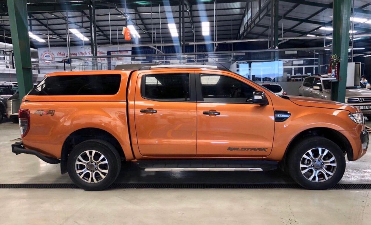 NẮp thùng cao Ford Ranger Wildtrak