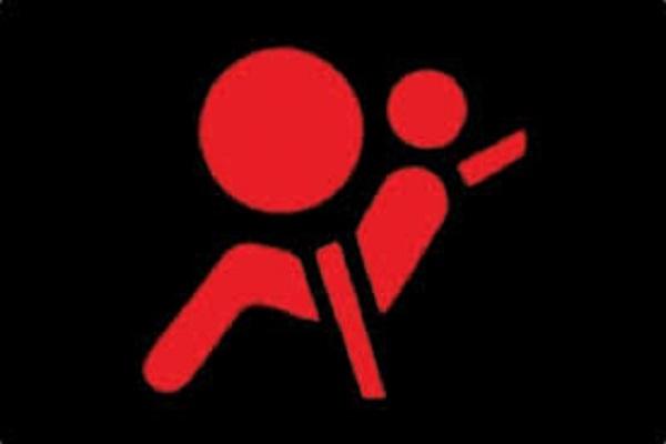 Đèn cảnh báo hệ thống túi khí.