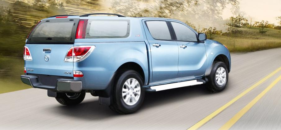 Nắp thùng xe bán tải Mazda BT50 chọn nắp thùng thấp hay nắp thùng cao