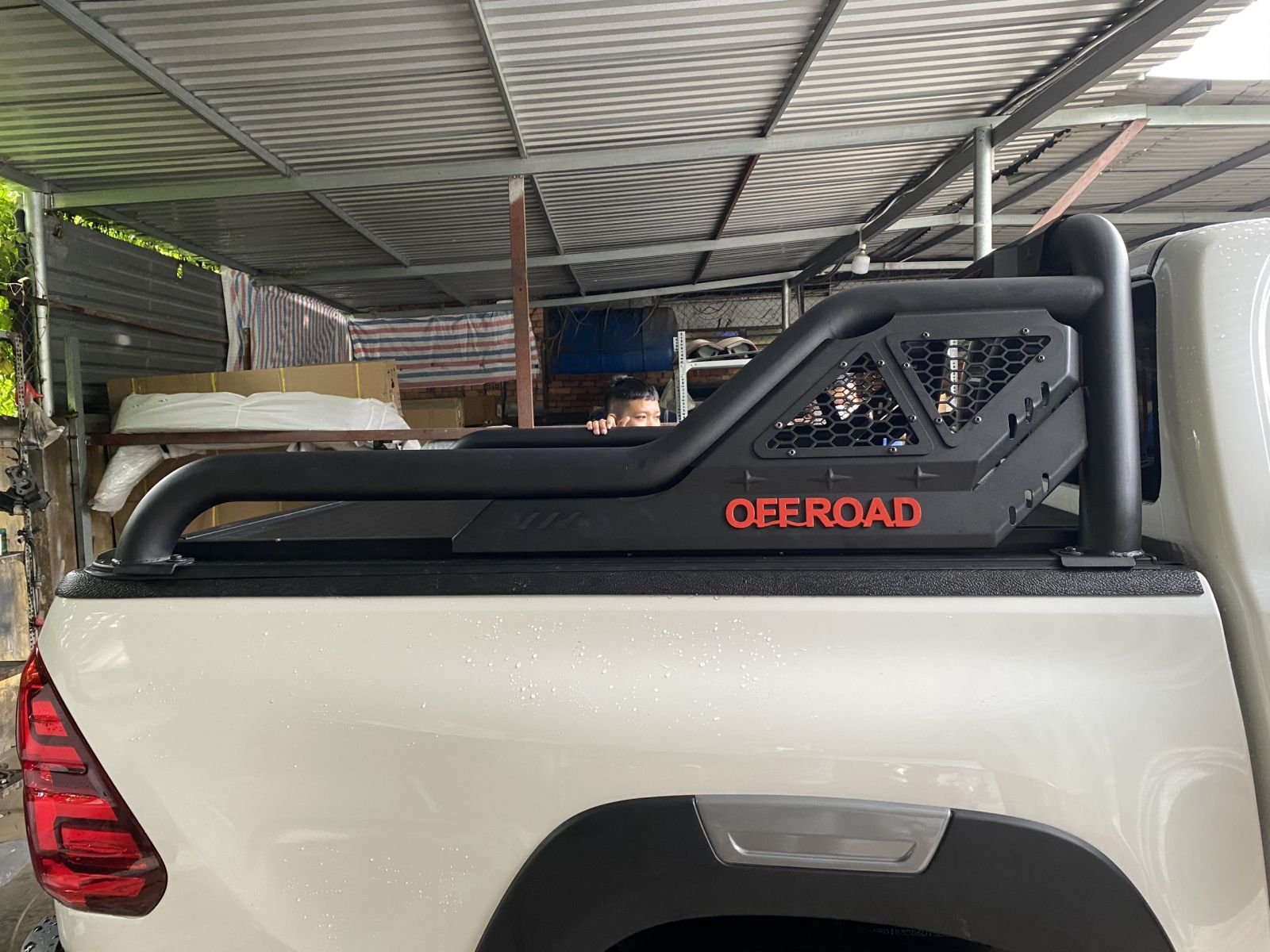 khung thể thao offroad Hilux