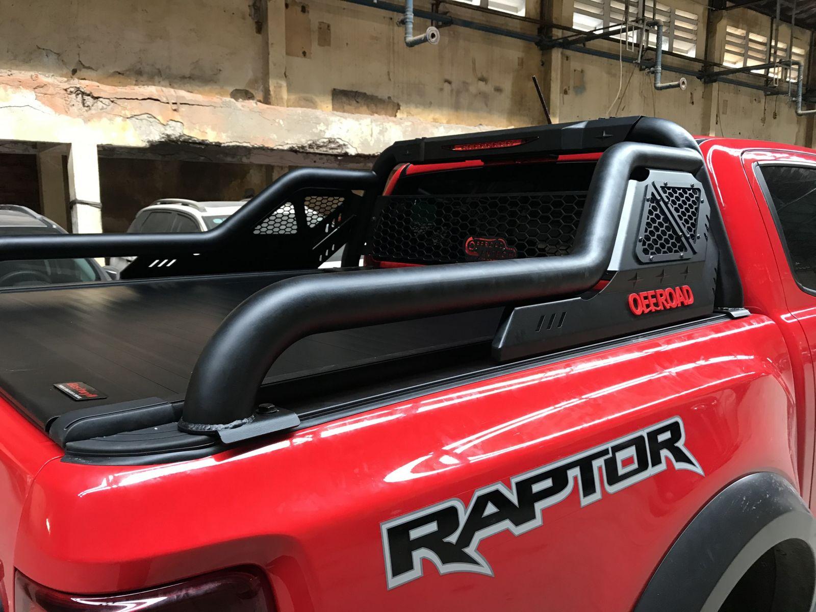 Thanh thể thao ráp kèm nắp cuộn điện Ranger Raptor