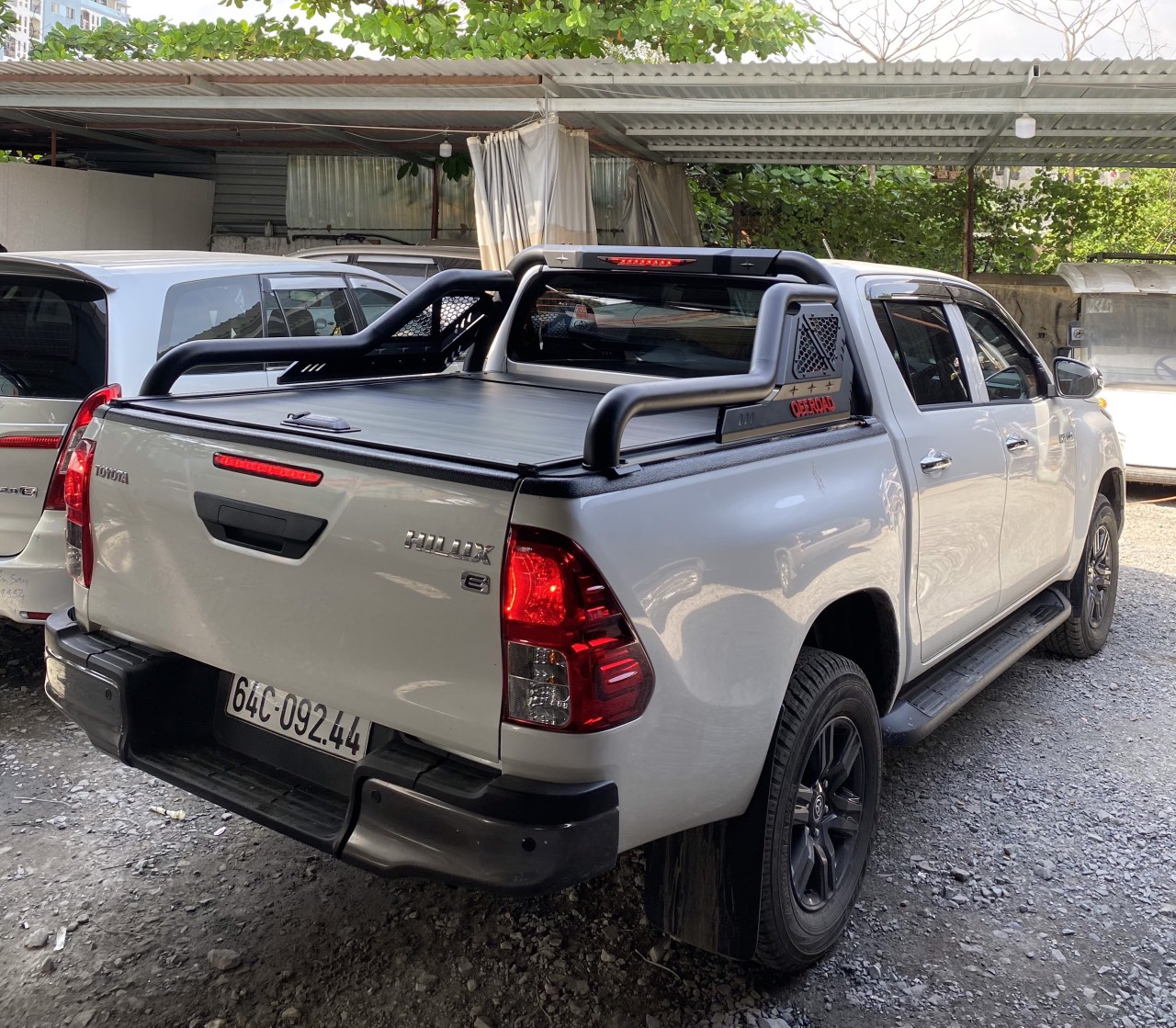 thanh thể thao offroad hilux
